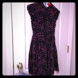 Madewell flowered dress